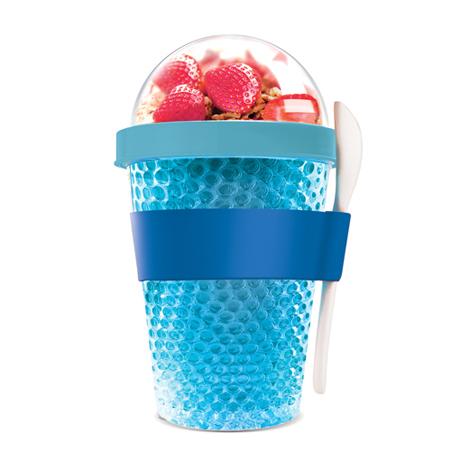CY2GO-451-BLUEJogo Box chłodzący pojemnik na jogurt lub owoce