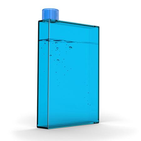 PB10-BLUE piersiówka na wdę
