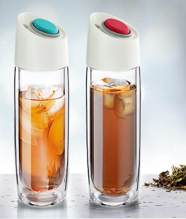 Szklana butelka termiczna